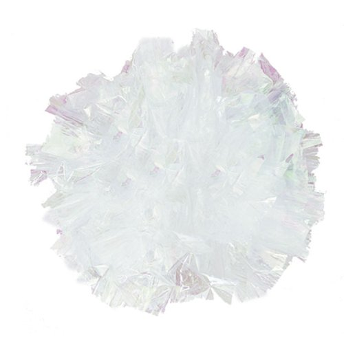 Weddingstar-2333-11-Package-of-25-Just-Fluff-Colored-Plastic-Poms-Light-Blue