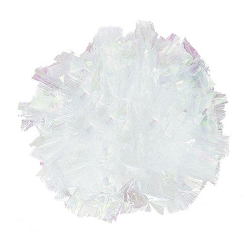 Weddingstar-2333-11-Package-of-25-Just-Fluff-Colored-Plastic-Poms-Light-Blue