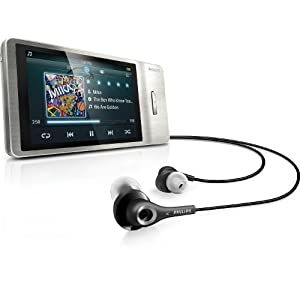 Philips GoGear Muse 8 GB MP3 Player (Silver)