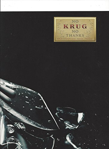 print-ad-for-krug-champagne-no-krug-no-thanks-broken-glass-scene