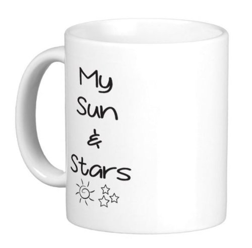 Pair Of 11 Ounce My Sun And Stars Moon Of My Life Game Of Thrones Mugs - Dishwasher And Microwave Safe