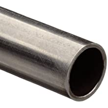 Stainless Steel 304 Hypodermic Tubing, 0.106&#034; OD, 0.075&#034; ID, 0.016&#034; Wall, 60&#034; Length