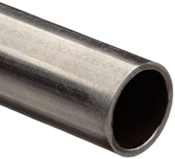 "Stainless Steel 304 Hypodermic Tubing, 0.106"" OD, 0.075"" ID, 0.016"" Wall, 60"" Length"