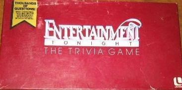 Entertainment Tonight Trivia Game