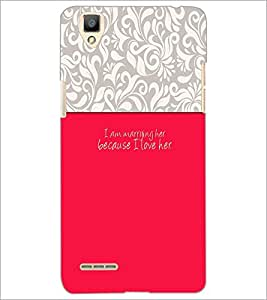 PrintDhaba Quote D-2630 Back Case Cover for OPPO F1 (Multi-Coloured)