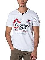 CANADIAN PEAK Camiseta Manga Corta Jommando (Blanco)
