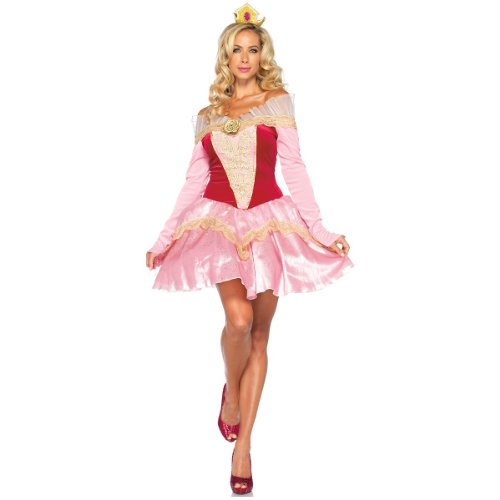 Princess Aurora Costume - Large - Dress Size 12-14
