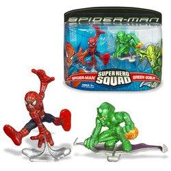 Buy Low Price Hasbro Spider-Man: Super Hero Squad Figures – Spider-Man vs. Green Goblin (B000PCCRI6)