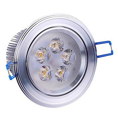 5W Led Silver Ceiling Light With 5 Leds Driver Included