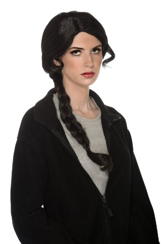 Rubie's Costume Adult Contestant Wig, Black, One Size