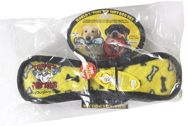 Tuffies The Worlds Tuffest Soft Dog Toy – Stone Bone