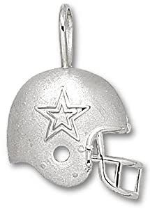 NFL Dallas Cowboys Sterling Silver Helmet Pendant