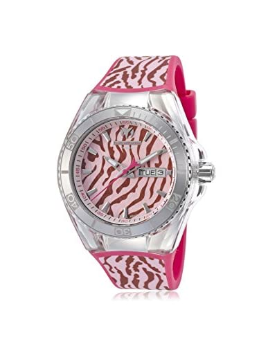 Technomarine Women's 114019 Cruise Pink/Pink Silicone Watch