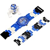 LEGO Kids' 9002915 Star Wars R2D2 Plastic Watch With Minifigure