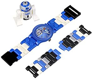 LEGO Kids' 9002915 Star Wars R2D2 Watch With Minifigure