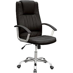 Miadomodo bds08schwarz sedia ufficio girevole for Sedia da ufficio amazon