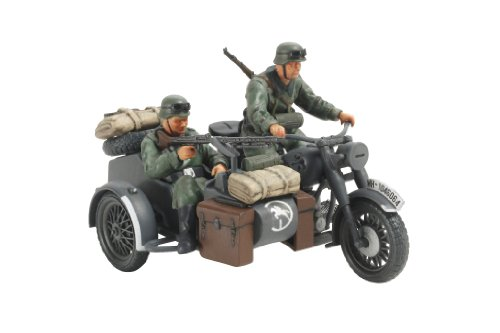 Tamiya Models German Motorcycle and Sidecar - 1
