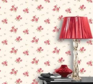 Coloroll Pippa Vintage Country Look Wallpaper - P from New A-Brend