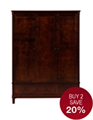 Sutton Triple Wardrobe