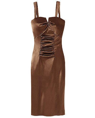 Stunning satin dress