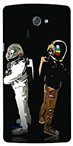 Timpax Protective Armour Case Cover lightweight construction easily slides in and out of pockets. Multicolour Printed Design : Spacemen.100% Compatible with LG-G-4