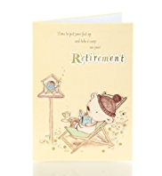 Retired Keats Bear Greetings Card