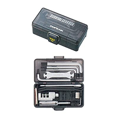 Topeak 2011 Update Survival Gear Box with Holding Clamp by Topeak