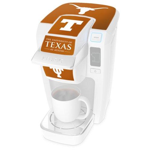 Keurig University of Texas Brewer Decal Set for K10 Mini Plus Brewing System, Orange (Keurig Coffee Makers K10 compare prices)