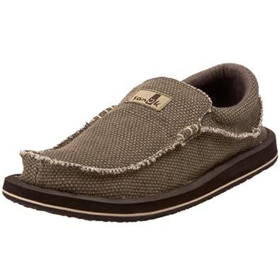 Buy Sanuk Mens Chiba Big & Tall Slip-On Shoe by Sanuk