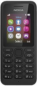 Nokia 130 SIM-Free Phone, Black
