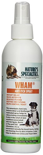 Nature's Specialties Wham Anti Itch Spray for Pets, 8-Ounce (Anti Itch Spray compare prices)