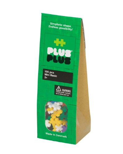 Plus-Plus 100-Piece Basic Assortment