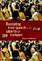 Restoring Free Speech and Liberty on Campus (Independent Studies in Political Economy)