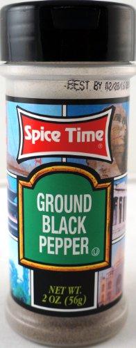 Spice Supreme Ground Black Pepper (Single)
