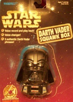 Star Wars Darth Vader Squawk Box Circa 1997