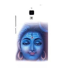 printtech Om Namah Shivaya Lord Back Case Cover for Xiaomi Redmi Mi4::Xiaomi Mi 4
