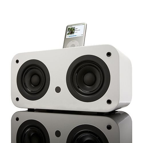 Vers 2X iPod Sound System (White Piano)