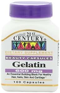 21st Century Gelatin 100 Capsules, (Pack of 2)