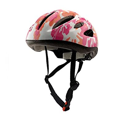 Sport Direct girls/ Women's girls boys Bicycle cycling roller Skating Helmet in Pink,Size:50cm-60cm by Guanshi