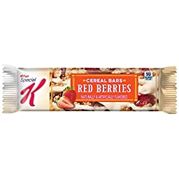 Kellogg\'s Special K Red Berries Cereal Bars 25 Count, 20.28 Ounce