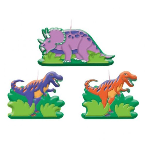 Dinosaur Party Candle (6-pack)