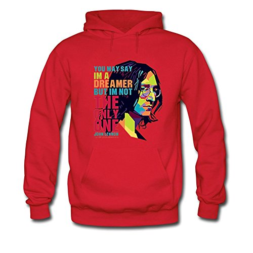 John Lennon The Beatles Iconic Roc For Mens Hoodies Sweatshirts Pullover Outlet