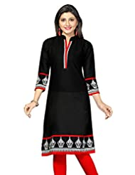 Cotton Straight Fit Long Kurtis For Women