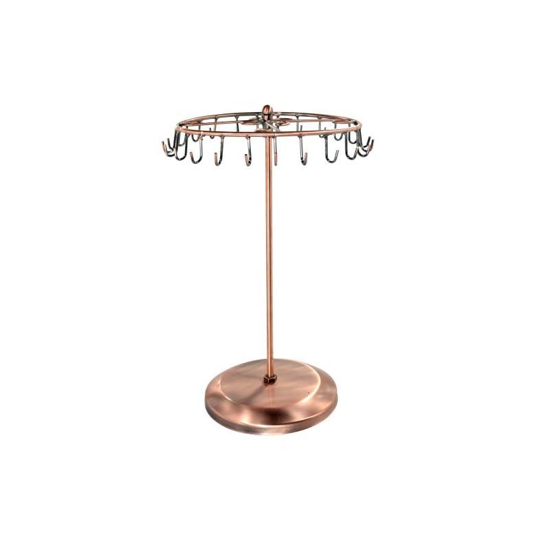 rotating necklace holder bracelet stand jewelry organizer