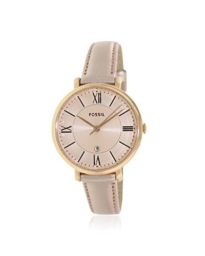 Fossil Women's ES3438 Jacqueline Rose Gold Tone Stainless Steel Watch