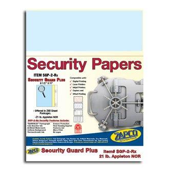 Blank Prescription Pad front-897637