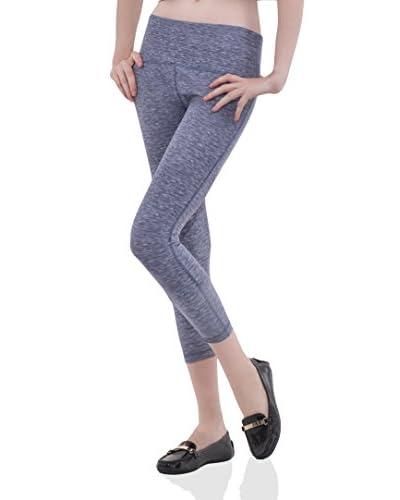 Bluberry Denim Women's Cropped Active Legging