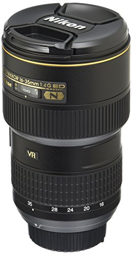 Nikon AF-S FX NIKKOR 16-35mm f/4G ED Vibration Reduction Zoom Lens with Auto Focus for Nikon DSLR Cameras