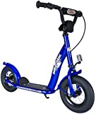 BIKESTAR® Premium Favourite Toy Scooter ★ For safe and carefree joy of playing kids aged from 5 years ★ NEW 2015 ★ 10s Classic Modell ★ Adventurous Blue