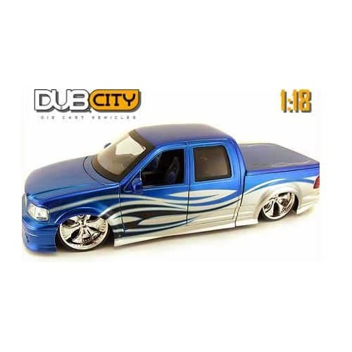 Amazon.com: 2003 Ford F-150 Diecast Model Truck 1:18 scale - Blue